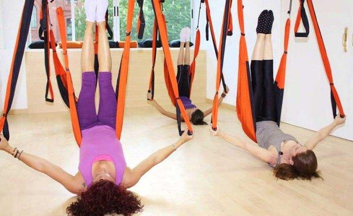 tips yoga aereo
