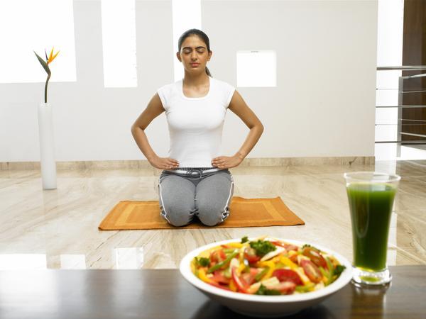 como hacer dieta yoga