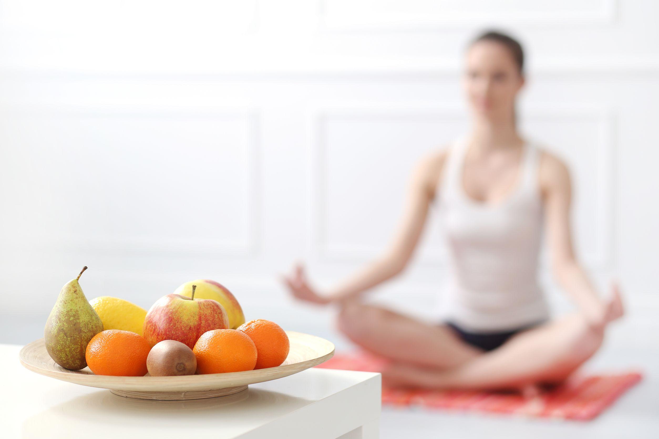 menu dietas para hacer yoga