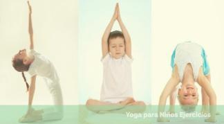 el yoga para niños ejercicios