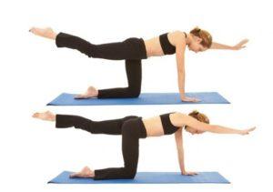 Posturas del yoga terapéutico
